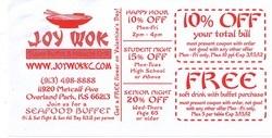 joy wok in overland park kansas coupon coupons pinterest parks overland park kansas and woks. Black Bedroom Furniture Sets. Home Design Ideas