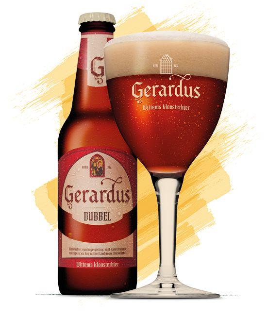 Sterren ***** - Het mag dan wel een oud recept zijn uit het Redemptoristenklooster in Wittem, maar Gerardus Dubbel is een zeer eigentijds en vooral eigenzinnig bier. Zuur en kruidig. De goede proever herkent zelfs noten en cederhout. Gerardus Dubbel is stevig bier. Perfect voor aangename rustmomenten. Een deel van de omzet is bestemd voor het behoud van het prachtige klooster in Wittem. Gerardus Dubbel is bekroond met een zilveren World