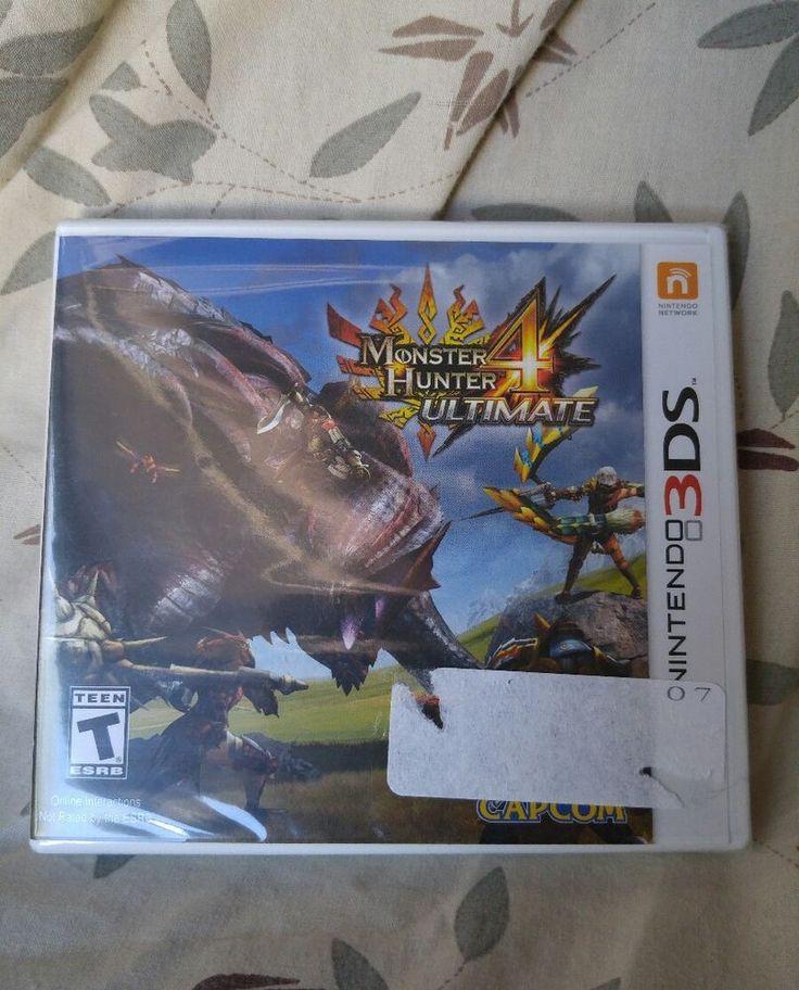 Monster Hunter 4 Ultimate SEALED not Mint Nintendo 3ds Video Game for sale on eBay
