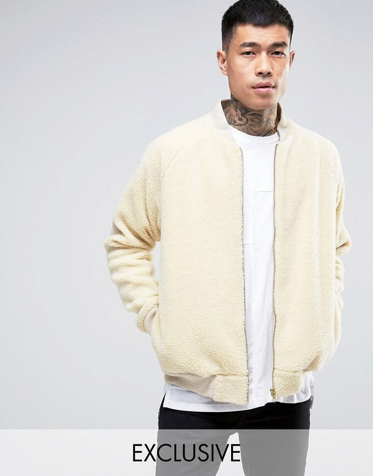 Have a look at this  Reclaimed Vintage Bomber Jacket In Borg - Stone - http://www.fashionshop.net.au/shop/asos/reclaimed-vintage-bomber-jacket-in-borg-stone/ #Bomber, #Borg, #ClothingAccessories, #In, #Jacket, #Male, #Mens, #MensJackets, #MensJacketsOther, #Reclaimed, #ReclaimedVintage, #Stone, #Vintage #fashion #fashionshop
