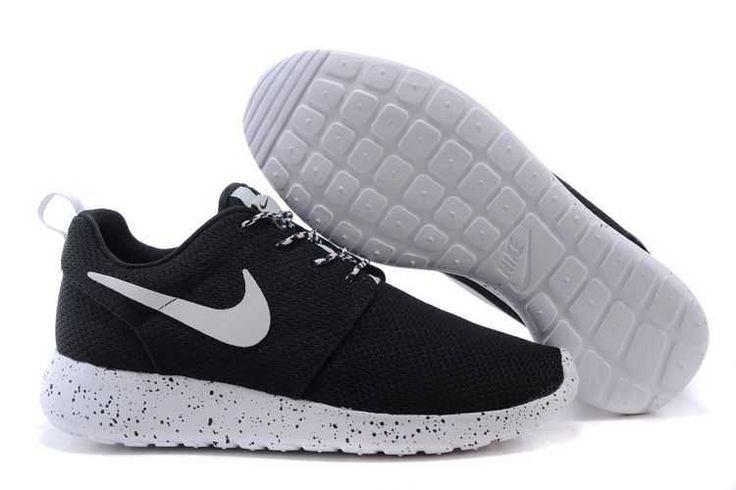 Sunshine Nike Roshe Run 2015 Mesh Black White Couple   Roshe One