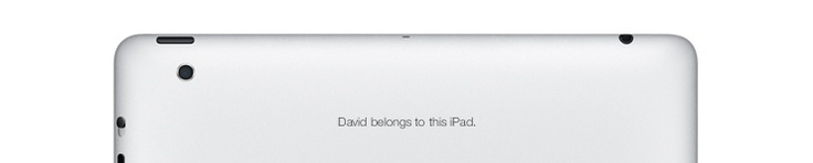 Getting your IPad engraved