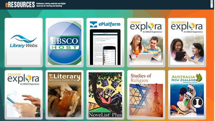 Database 'eResources' to assist with the study and teaching of this unit