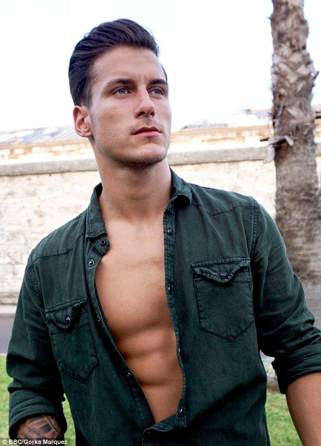 Hunk: Top Spanish dance professional Gorka Marquez will no doubt be a favourite among fans of the BBC show