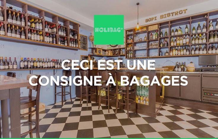 Le monde change... La consigne à bagages aussi ! Vous souhaitez déposer vos affaires au Sopi Bistrot à Paris ? Alors réservez vite votre consigne sur www.holibag.io ou sur notre superbe appli : apple.co/1SVxqL2 :-)
