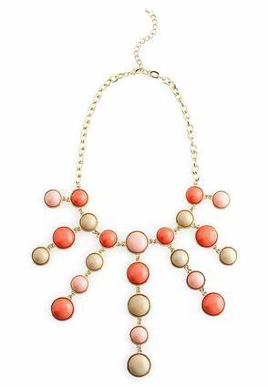 Cato Fashions Beaded Bubble Necklace #CatoFashions