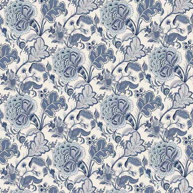 Warwick Fabrics : THORNBURY, Colour SKY