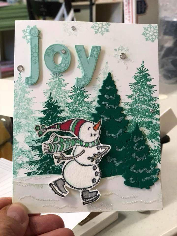 Spirited Snowmen Stampin Up | SU - 2018 ... | Christmas | Pinterest ...