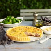 Caramelised Onion & Sausage Quiche - Coles Recipes & Cooking