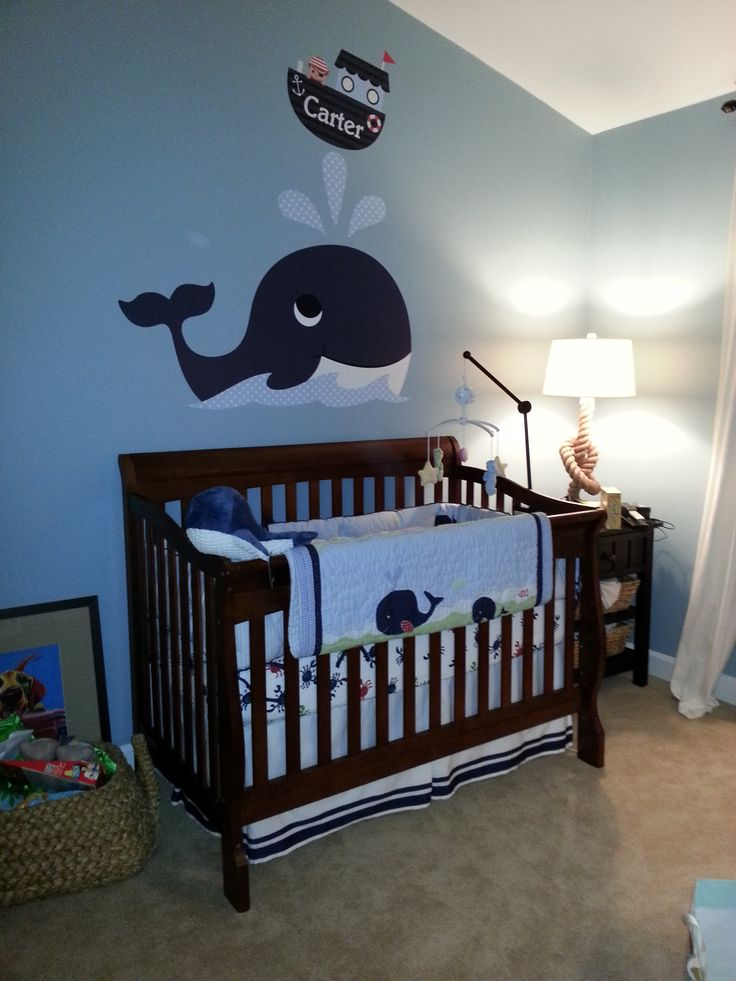 Nautical baby room inspired by giuliana rancic 39 s i mean for Babies bedroom decoration