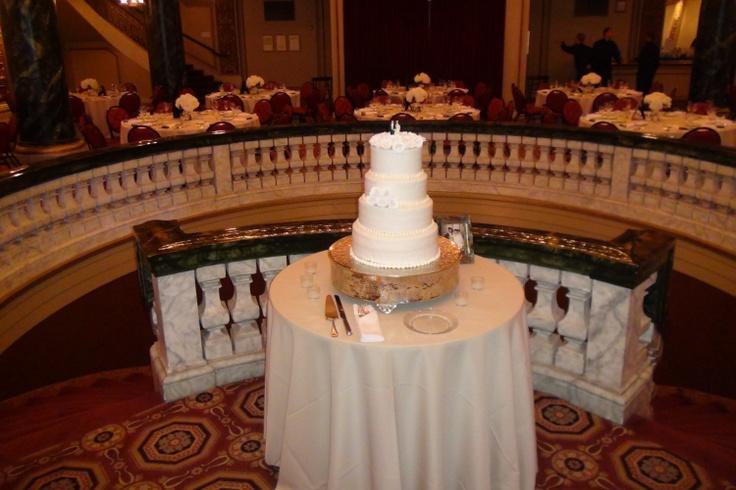 The entire ballroom radiates elegance. http://www.discjockey.org/