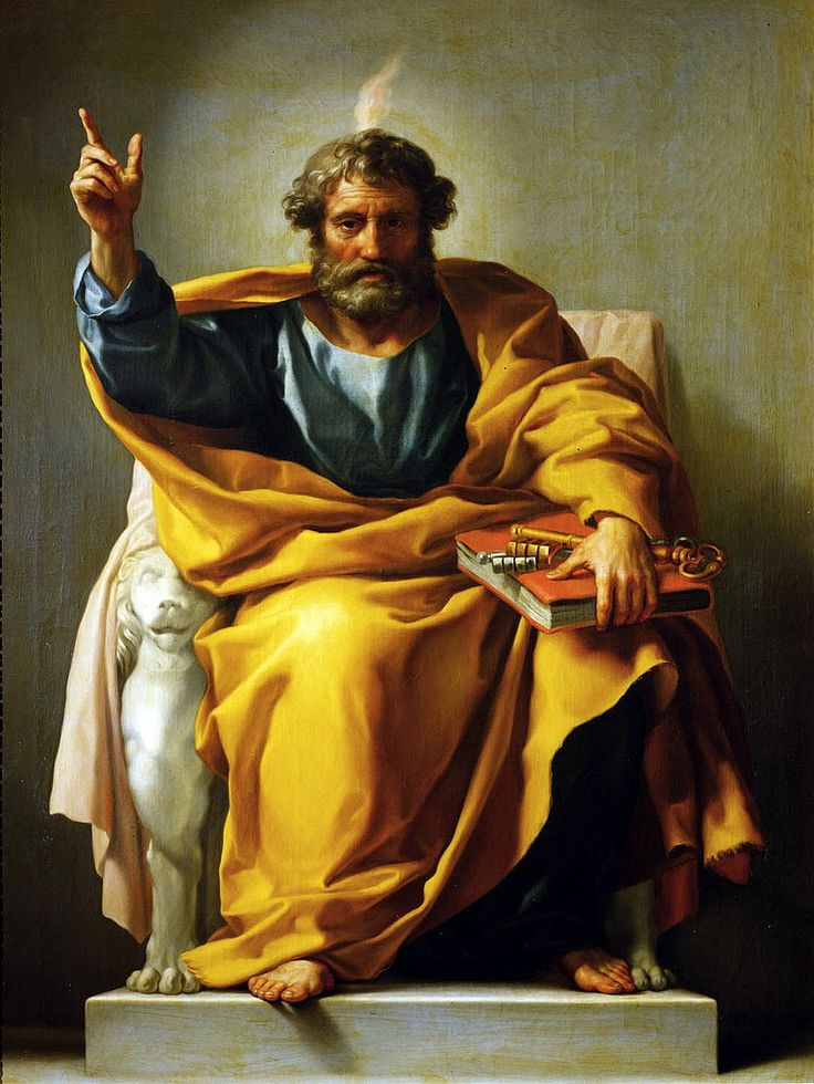 https://flic.kr/p/QKKpxp | Saint Peter | 1774/1776. Oil on canvas. 148 x 114 cm. Kunsthistorisches Museum Wien, Gemäldegalerie, Vienna. 166