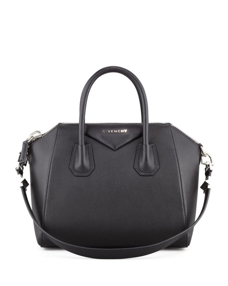 Antigona Small Sugar Goatskin Satchel Bag, Black - Givenchy.... My DREAM purse