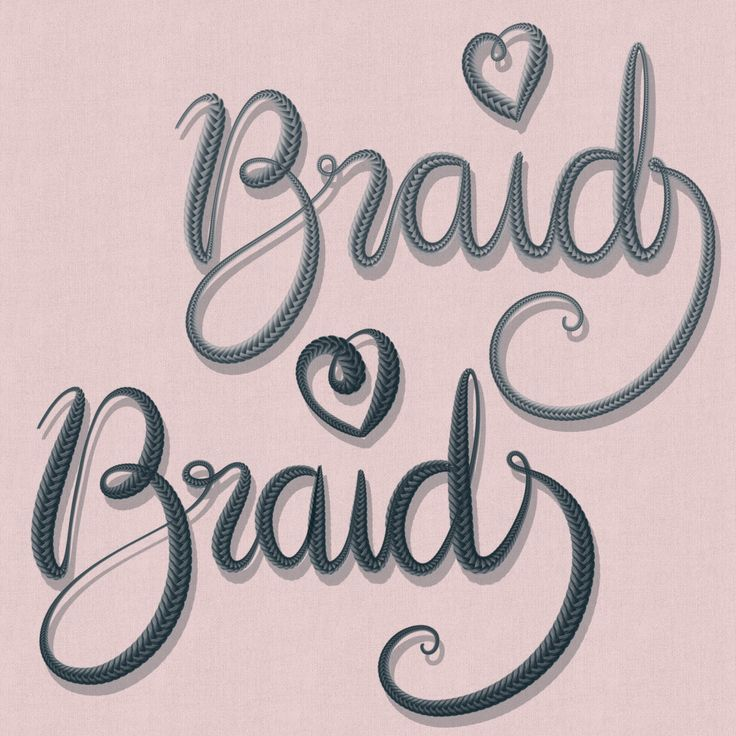 Download Free Braided Procreate Lettering Brush - Uproot Jewellery ...