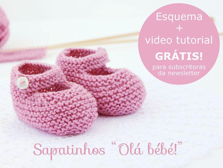 Esquema de tricot - GRÁTIS para subscritoras da minha newsletter!