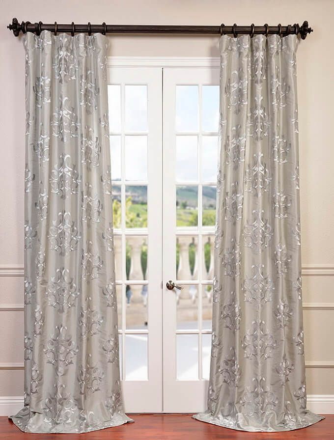 The 25+ best Silver curtains ideas on Pinterest | Black ...