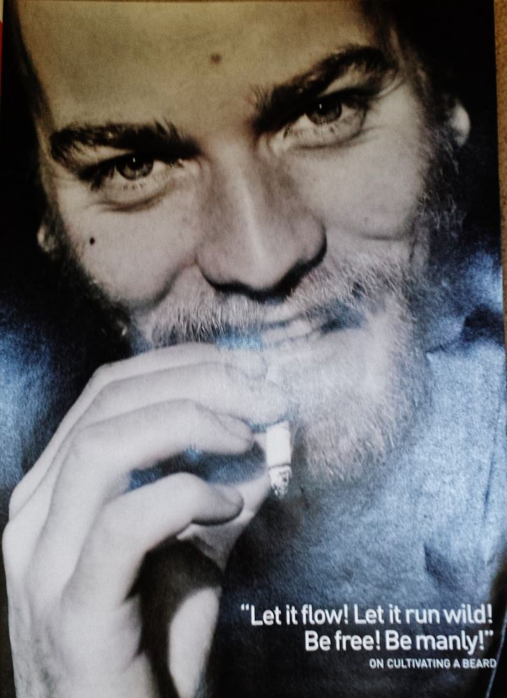 Ewan McGregor Celebrity Clipping Poster Picture Photo Cutting Film Memorabilia