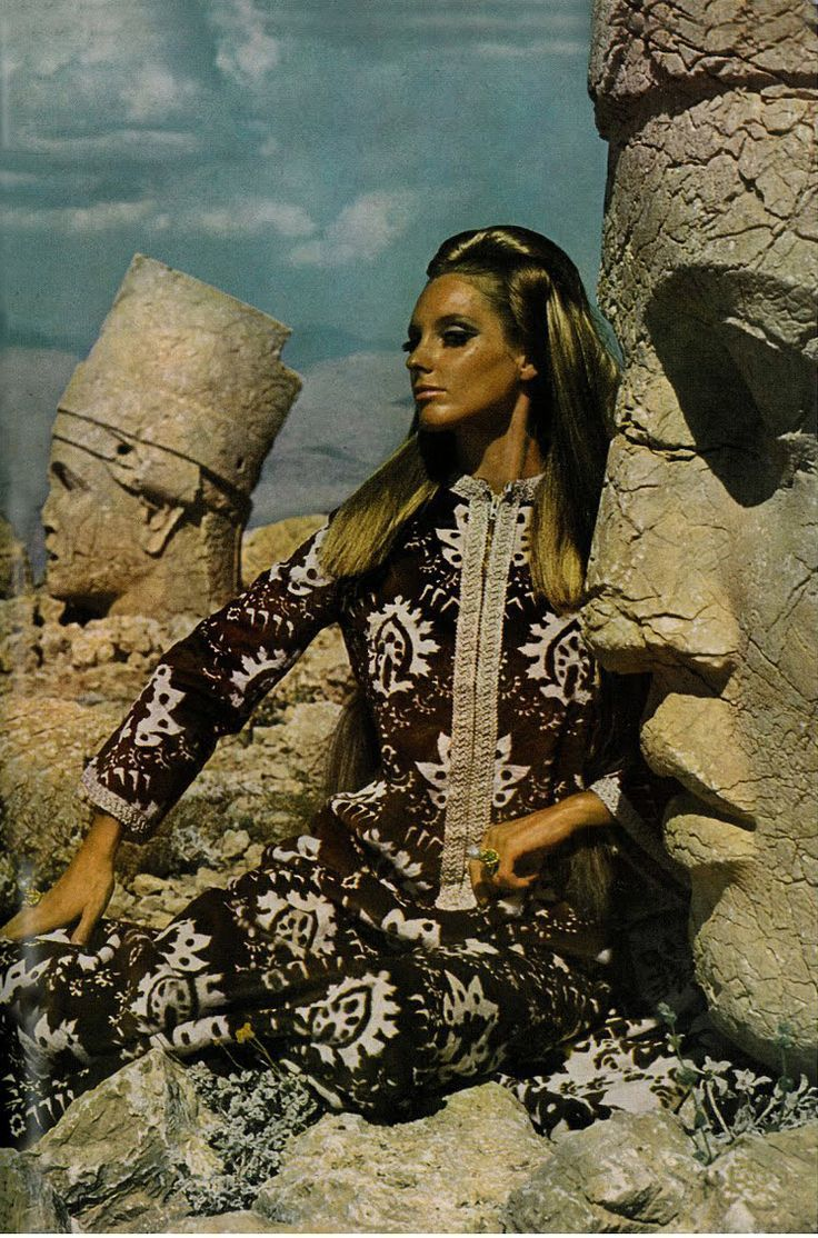 totally Talitha Getty style and attitude