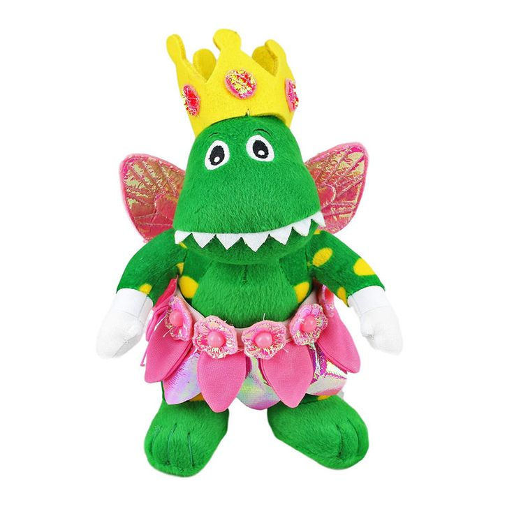 Title: Wiggles Dorothy Fairy With Glitter Wings Plush Toy Size: Measures 10 inch / 25cm tall Price: AUS$ 22.95 Brand : The Wiggles  Lots more items like this available at: www.stuffedwithplushtoys.com 100 Day Returns |Fast Trackable Shipping|Google Trusted Store