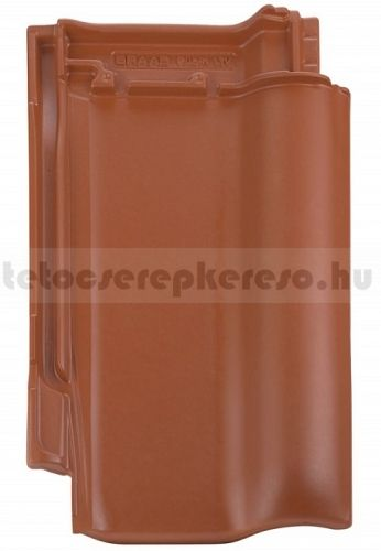 Bramac Rubin 9V kerámia natúrvörös tetőcserép akciós áron a tetocserepkereso.hu ajánlatában
