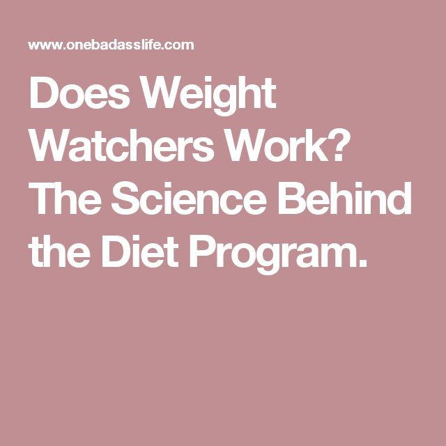 Does Weight Watchers Work? The Science Behind the Diet Program.