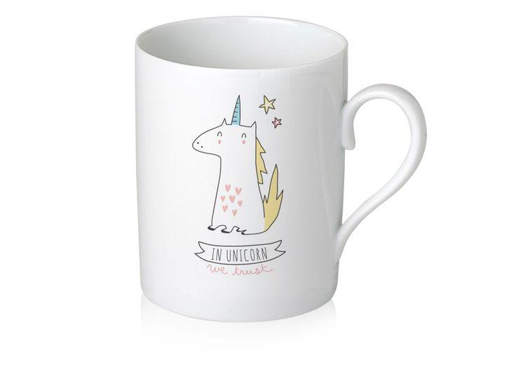 "Mug ""In Unicorn We Trust"" by Sobigraphie on Etsy https://www.etsy.com/ca/listing/193210081/mug-in-unicorn-we-trust"