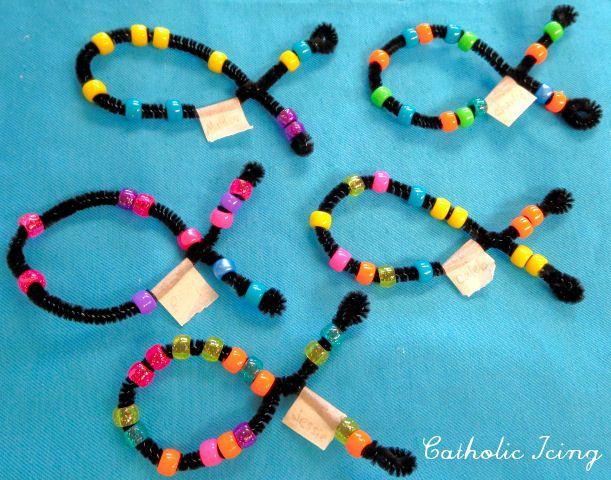 easy jesus fish craft for kids