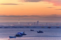 https://flic.kr/p/f8qVYD | Dusk over the Solent from Seaview | Find more information about the Isle of Wight on our official tourism website here Facebook Situated just off England's South coast and less than 2 hours from London, the Isle of Wight is the perfect holiday destination at any time of year.
