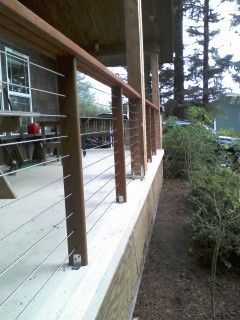 Stainless steel cable railing systems - modern - porch - portland - Stainless Cable & Railing, Inc.