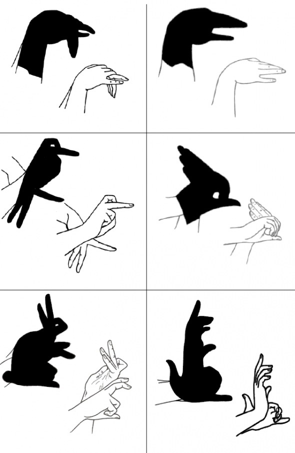 Vintage Shadow puppets