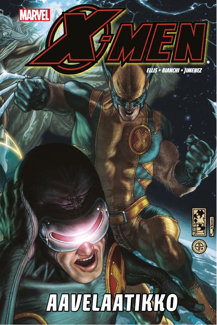X-Men - Aavelaatikko. #sarjakuva #sarjis #egmont #marvel #ryhmä-x