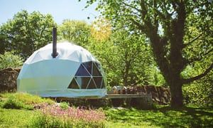 Glamping in central France: a rural retreat that's packed with creature comforts | Travel | The Guardian