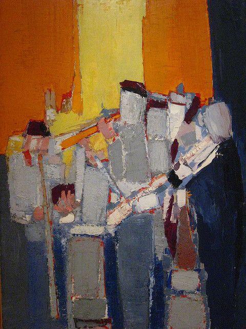 Nicolas de Staël - Artist XXè - Abstract Art
