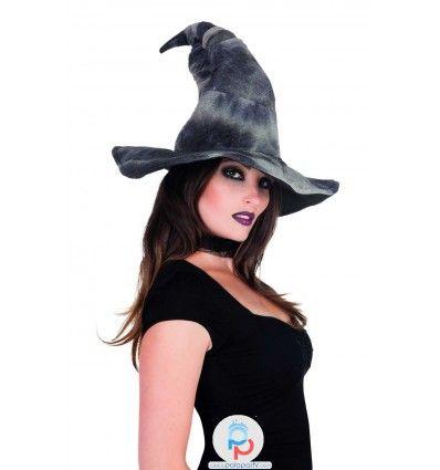Cappello strega Halloween Zelda, un vero cappello da strega. Su PalaParty trovi online tutto i migliori prodotti per la festa halloween perfetta. Entra ora