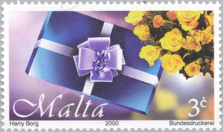 37 best clock stamps images on pinterest postage stamps stamp gift and flowers malta greetings stamps mimt 1161 fandeluxe Gallery