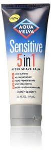 8. Aqua Velva Sensitive 5 in 1 After Shave Balm