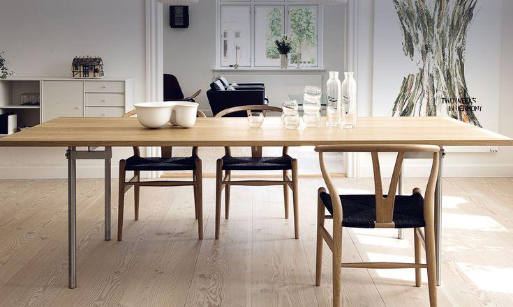 Inspiration Carl Hansen Son; CH318 + The Wishbone Chair (CH24)