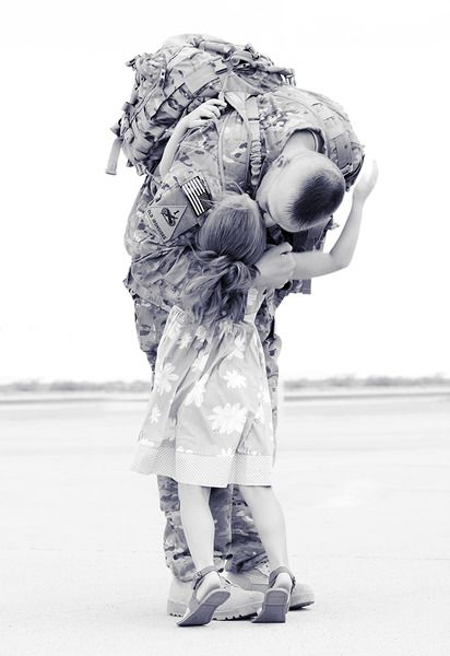 "1st Place, Div 2 Category: Military Life ""Finally Home"" by Tara Ruby, Fort Bliss"