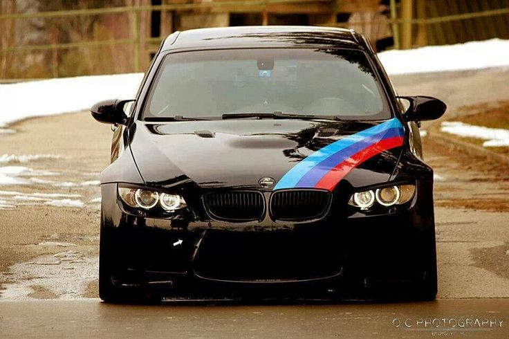 Bmw E93 M3 Black With M Stripe Bmw Ultimate Driving