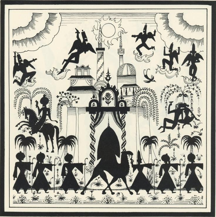 Arabian Nights: Kay Nielsen