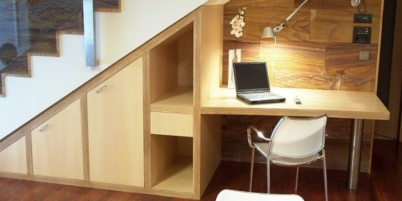 C mo aprovechar el bajo escalera small spaces stair - Aprovechar el espacio ...