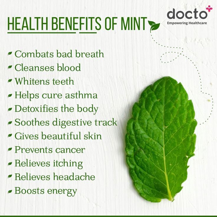 Not just for minty breath. #docto