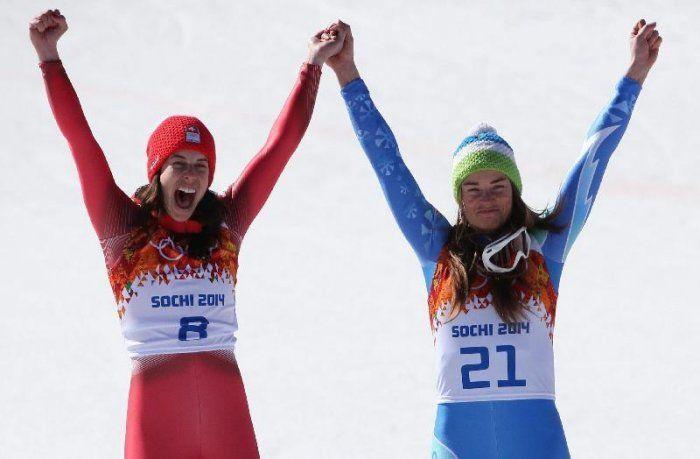 #Olimpiadi2014: discesa libera femminile un oro per due