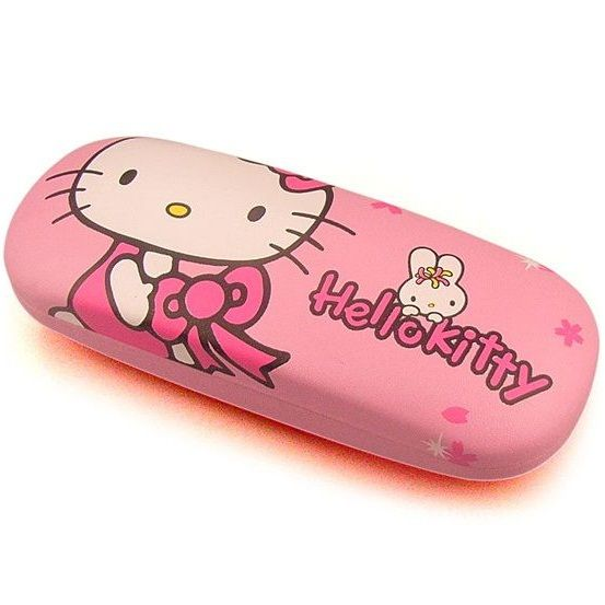 Kawaii Hello Kitty Plastic Glasses Box Glasses Case Lovely Spectacles Case Eyeglasses Case Retail K6433 - Top Kawaii - Best Online Kawaii Shop Top Kawaii - Best Online Kawaii Shop
