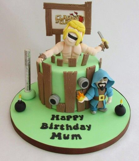 Cake Design Coc : 17 Best images about clash of clan cake on Pinterest