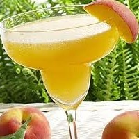 Peach Margarita Cocktail
