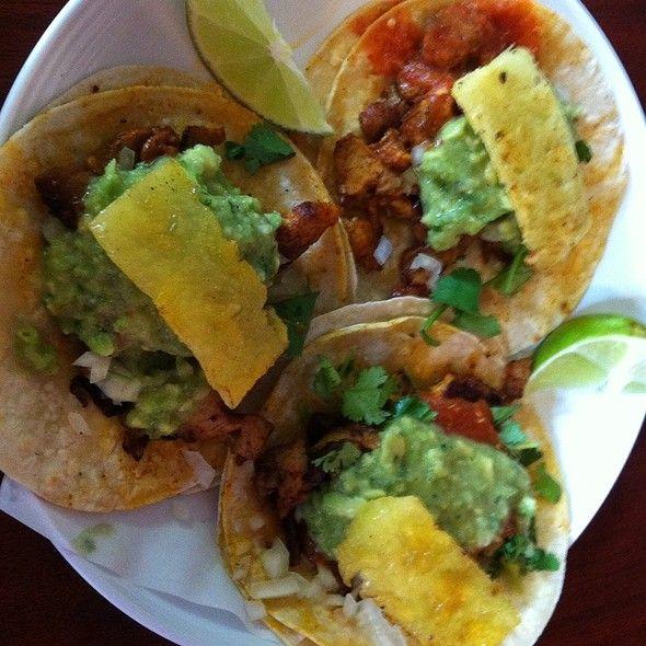 Adobada Pork Tacos @ Tacos Chukis