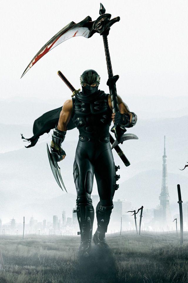 Ninja with scythe.