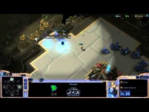 StarCraft 2 : Protoss vs Protoss very quick rush