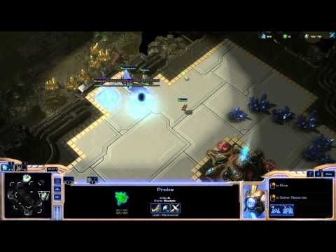 StarCraft 2 : Protoss vs Protoss very quick rush